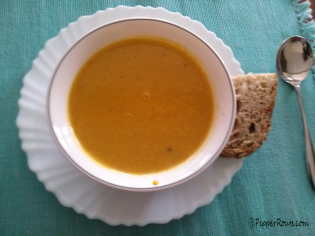 P1 Pumpkin soup